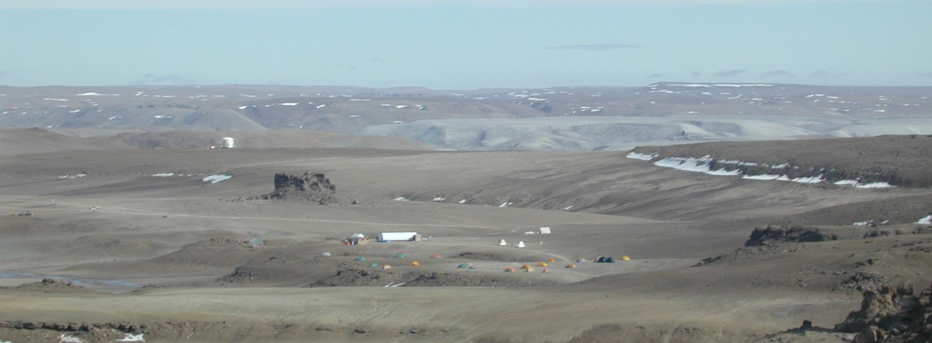 Haughton-Mars Project base camp